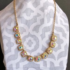 Iridescent Crystal Statement Choker/Necklace